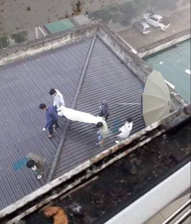 Tá hỏa phát hiện bệnh nhân tử vong trên mái nhà tại bệnh viện tỉnh Nghệ An-1