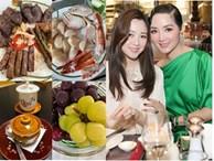 Chiều ái nữ xinh đẹp, Hoa hậu Giáng My vào bếp làm toàn 'món VIP' hảo hạng, đắt tiền
