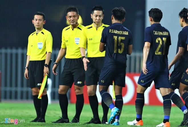 6 trọng tài Nhật Bản điều khiển trận U23 Việt Nam gặp Jordan-1