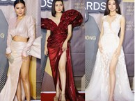 Chẳng đụng trang phục, loạt mỹ nhân Việt lại đụng nhau công thức khoe dáng tại thảm đỏ WeChoice Awards 2019