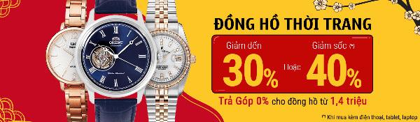 Tết đến, sắm đồng hồ giảm đến 40% kèm ưu đãi ở Thế Giới Di Động-1