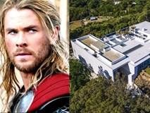 Bên trong căn biệt thự như khu mua sắm của 'Thần Sấm' Thor