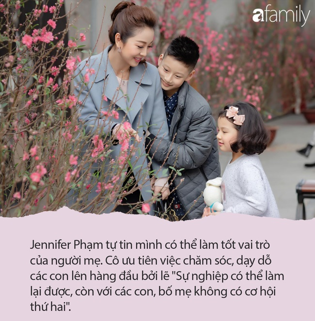 Jennifer Phạm từng khiến chị em tranh cãi khi cho con riêng về Mỹ sống với bà ngoại, nhưng cách dạy con vẫn không chê vào đâu được-3