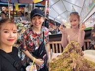 """Sang Thái Lan dịp sinh nhật, Khởi My được Kelvin Khánh tặng """"bánh kem"""" là một… cục sườn to bự: Đến xỉu với độ lầy của hai vợ chồng này!"""