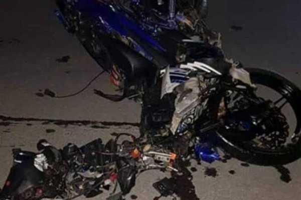 Trêu chọc CSGT kiểm tra nồng độ cồn, thanh niên lao xe máy vào ô tô tử vong-2