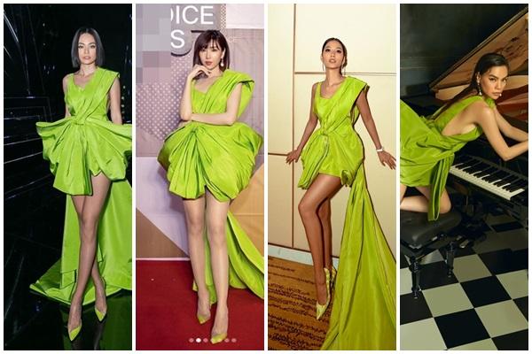 Màn đụng hàng cực gắt đầu năm 2020: Min - Hà Hồ chiếm thế thượng phong khi mặc chung váy với Hoàng Thùy-9