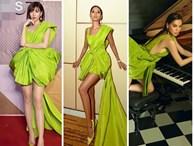 Màn đụng hàng cực gắt đầu năm 2020: Min - Hà Hồ chiếm thế thượng phong khi mặc chung váy với Hoàng Thùy