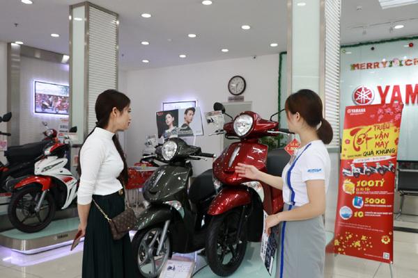 Hàng ngàn khách mua xe Yamaha 'trúng lớn' dịp Tết-1