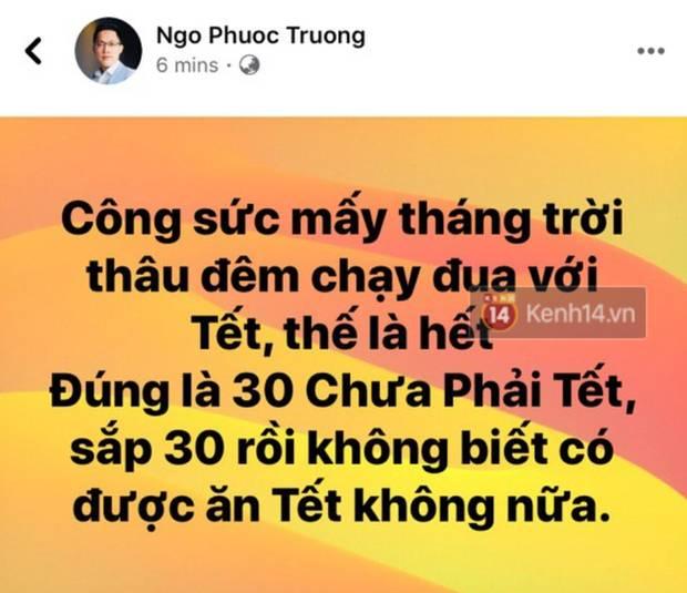 Quang Huy - Trường Giang nói gì trước nguy cơ mất trắng một triệu đô nếu 30 Chưa Phải Tết không được ra rạp?-3