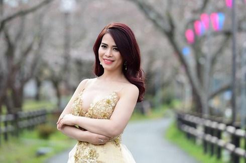 Nhan sắc rạng rỡ thời đi thi Hoa hậu của bạn gái mới NSƯT Chí Trung-2