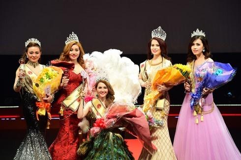 Nhan sắc rạng rỡ thời đi thi Hoa hậu của bạn gái mới NSƯT Chí Trung-5