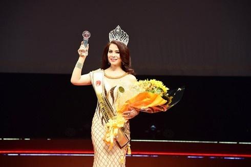 Nhan sắc rạng rỡ thời đi thi Hoa hậu của bạn gái mới NSƯT Chí Trung-6