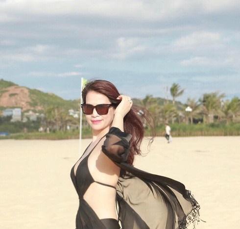 Nhan sắc rạng rỡ thời đi thi Hoa hậu của bạn gái mới NSƯT Chí Trung-8