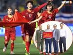 Lùm xùm tiền thưởng ĐT nữ: HLV trưởng lên tiếng sau phát biểu của doanh nghiệp về việc chuyển thưởng vào tài khoản cá nhân của liên đoàn bóng đá-4