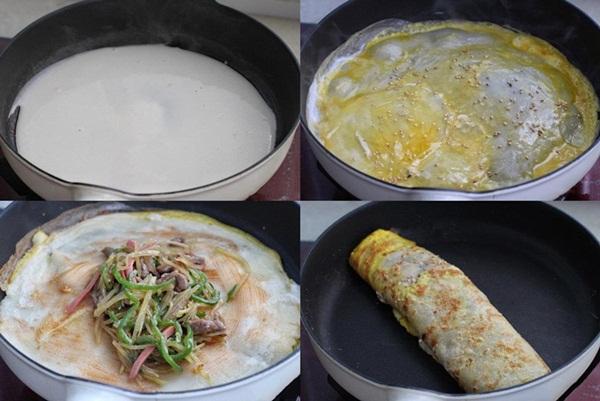 Có món bánh cuộn nóng hổi siêu ngon, ăn bữa sáng thì hợp lý vô cùng!-3