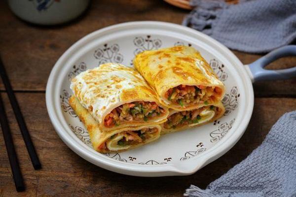 Có món bánh cuộn nóng hổi siêu ngon, ăn bữa sáng thì hợp lý vô cùng!-4
