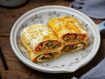 Có món bánh cuộn nóng hổi siêu ngon, ăn bữa sáng thì hợp lý vô cùng!
