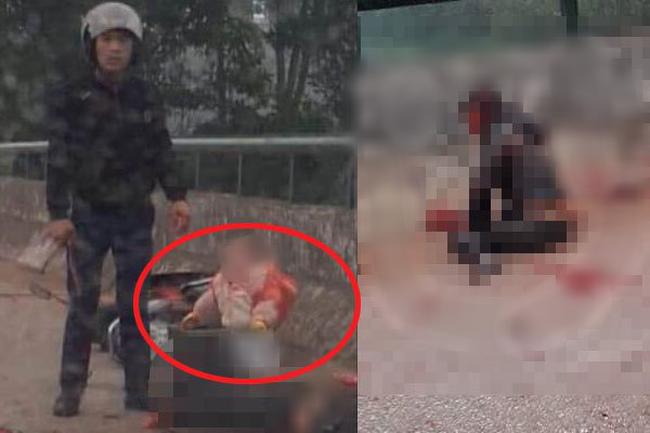 Vụ người phụ nữ chở con nhỏ bị gã đàn ông chém trọng thương ở Thái Nguyên: Nghi phạm đã ra đầu thú, hé lộ nhiều thông tin bất ngờ-1