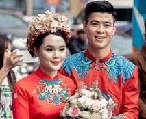 Ngắm loạt ảnh đám hỏi Duy Mạnh - Quỳnh Anh: Cô dâu xinh xắn hết nấc, chú rể cười toe toét từ đầu đến cuối
