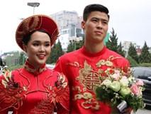 Vừa làm lễ ăn hỏi, Duy Mạnh sẽ phải chia xa Quỳnh Anh để đến Malaysia thi đấu