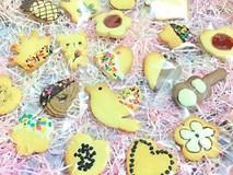 Mẹ tự làm bánh quy hình ngộ nghĩnh cho con thích mê