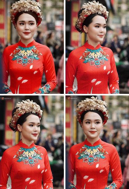 Cộng đồng mạng truy tìm người makeup cho Quỳnh Anh trong đám hỏi để đòi công bằng cho cô dâu-4