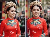 Cộng đồng mạng truy tìm người makeup cho Quỳnh Anh trong đám hỏi để đòi công bằng cho cô dâu
