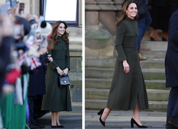 Hai nàng dâu hoàng gia tái xuất sau cuộc khủng hoảng, Công nương Kate nhận mưa lời khen với thần thái hoàn hảo, Meghan gây bất ngờ hơn-2