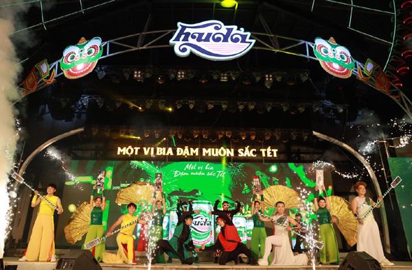 Huda mang lễ hội 'Đậm muôn sắc tết' đến miền Trung-1