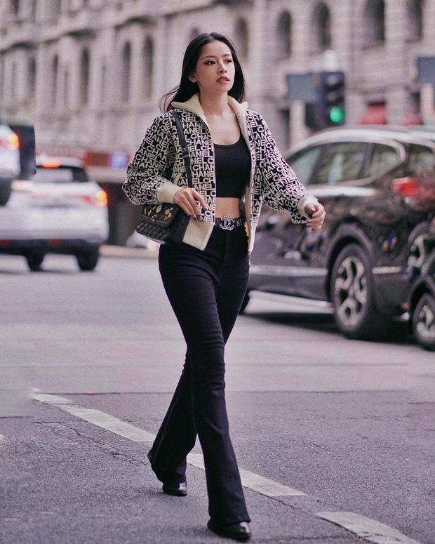 Chẳng cao như người mẫu nhưng Chi Pu vẫn hack được chân dài, dáng đẹp nhờ bí kíp diện quần ống loe tuyệt hay-3