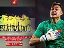 Đặng Văn Lâm cổ vũ U23 Việt Nam trước trận cầu sinh tử với U23 CHDCND Triều Tiên: