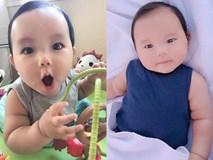Vẻ kháu khỉnh của con trai Phạm Hương