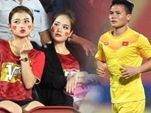 Bạn gái tin đồn của Quang Hải bất ngờ xuất hiện trên sân cổ vũ U23 Việt Nam đấu U23 CHDCND Triều Tiên