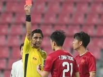 Khoảnh khắc đáng buồn nhất VCK U23 châu Á 2020: Đình Trọng nhận thẻ đỏ, U23 Việt Nam