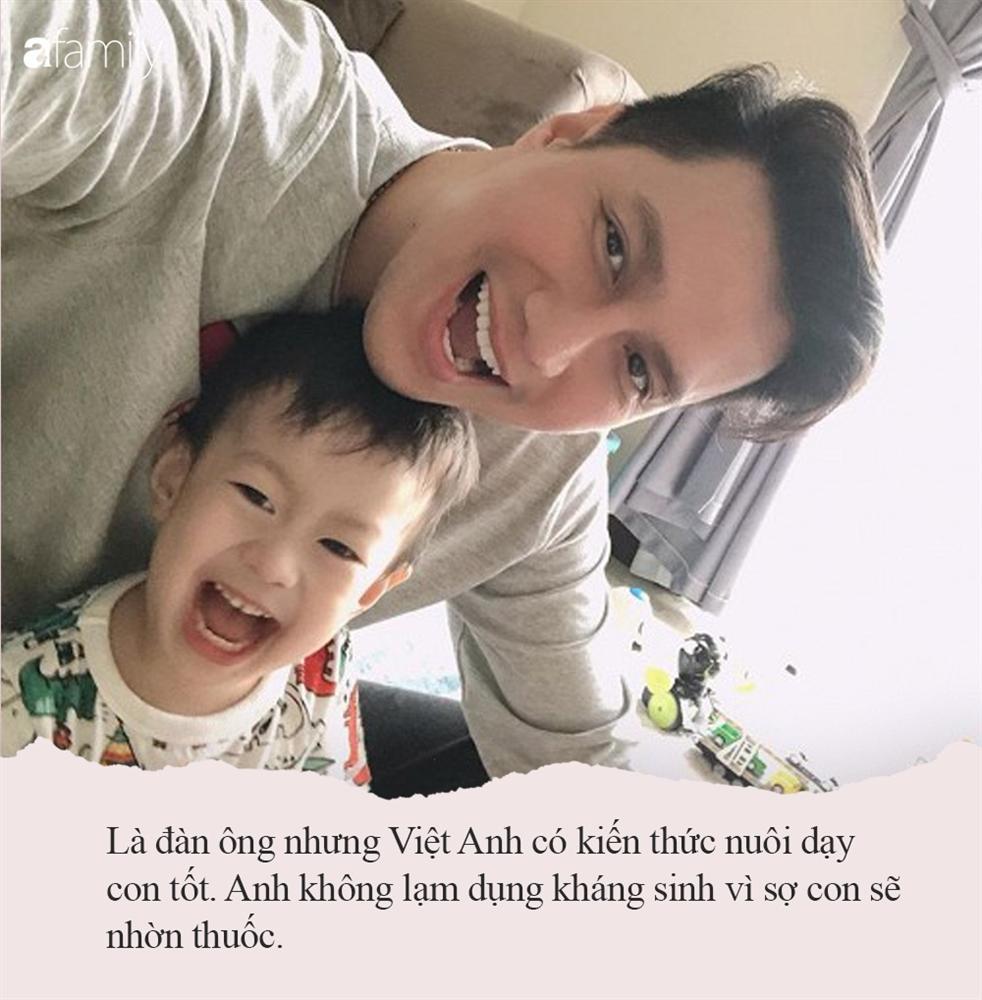 Trước khi bị cả 2 vợ cũ chỉ trích vô trách nghiệm, nam diễn viên Việt Anh từng có cách nuôi dạy con rất gì và này nọ-3