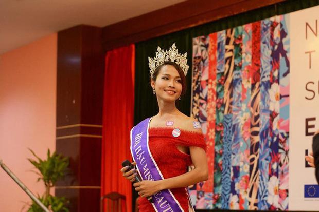 Khiến Trọng Hiếu công khai tỏ tình trên truyền hình, Hoa hậu chuyển giới đầu tiên của Việt Nam Hoài Sa có gì đặc biệt?-5