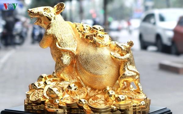 Cẩn trọng khi mua đồ mạ vàng trưng ngày Tết-2