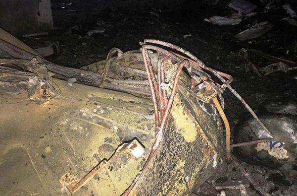 Hiện trường vụ cháy tòa nhà dầu khí Thanh Hóa khiến 2 người chết, 13 người bị thương-13