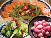 Chống ngán ngày Tết: 5 món đồ chua cực phẩm, vụng mấy cũng làm được!