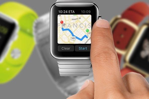 Cách xem bản đồ trên Apple Watch-1