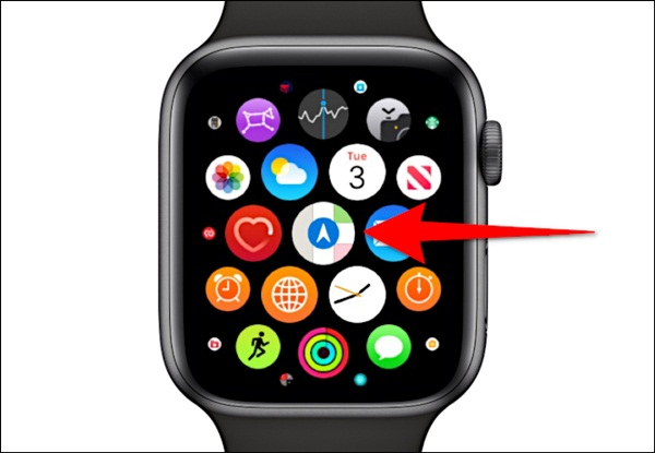Cách xem bản đồ trên Apple Watch-2
