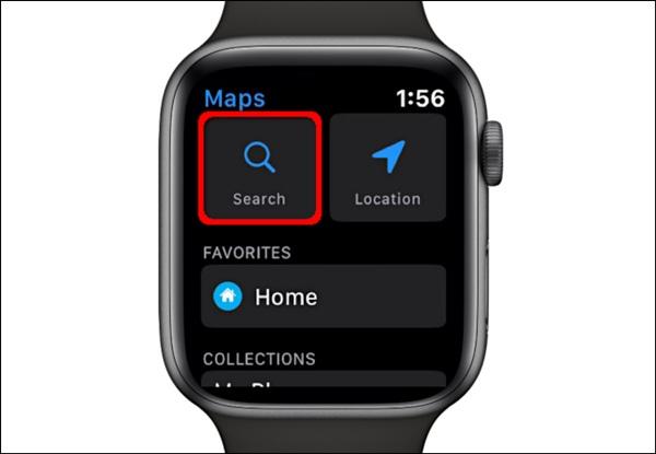 Cách xem bản đồ trên Apple Watch-4