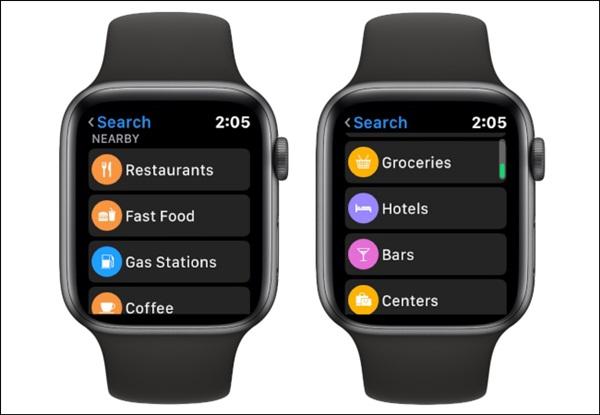 Cách xem bản đồ trên Apple Watch-6