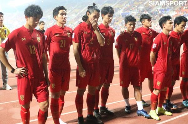 Cầu thủ U23 Thái Lan khóc nức nở, gọi quyết định thổi penalty của trọng tài là một tai nạn-1