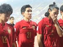 Cầu thủ U23 Thái Lan khóc nức nở, gọi quyết định thổi penalty của trọng tài là