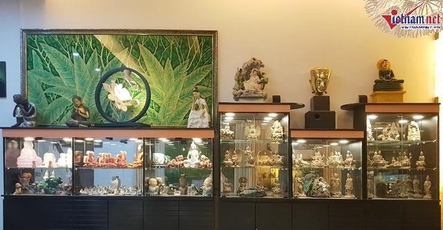 Nhà hơn 50 năm tuổi trưng bày hàng trăm tượng Phật của NSND Kim Cương-8