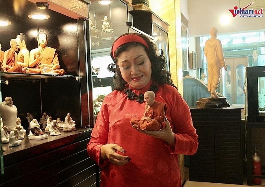 Nhà hơn 50 năm tuổi trưng bày hàng trăm tượng Phật của NSND Kim Cương-9