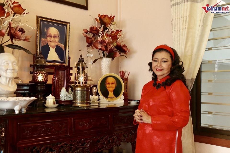 Nhà hơn 50 năm tuổi trưng bày hàng trăm tượng Phật của NSND Kim Cương-12