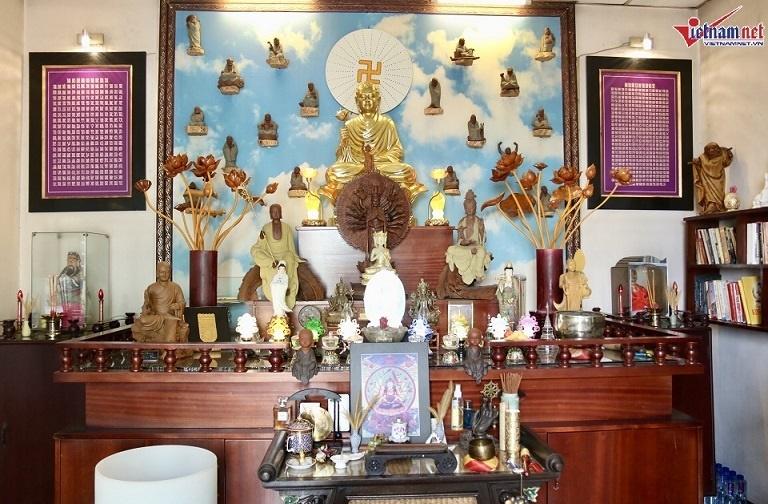 Nhà hơn 50 năm tuổi trưng bày hàng trăm tượng Phật của NSND Kim Cương-13