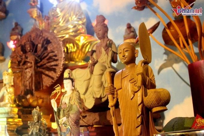 Nhà hơn 50 năm tuổi trưng bày hàng trăm tượng Phật của NSND Kim Cương-14